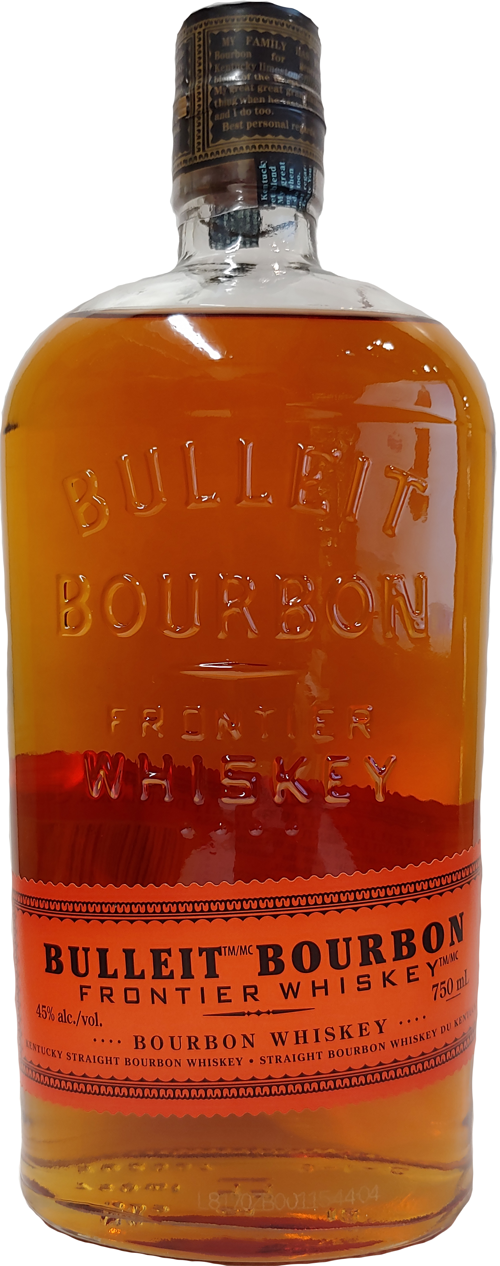 Bulleit Frontier Bourbon Whiskey