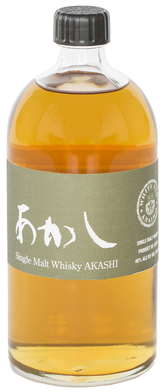 Eigashima Akashi Single Malt Whisky 5 year old