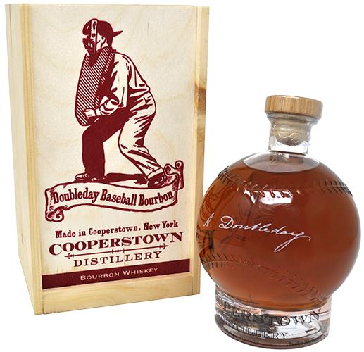 Cooperstown Distillery Abner Doubleday Baseball Bourbon