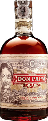 Don Papa Oak Aged Rum 7yr 7 year old