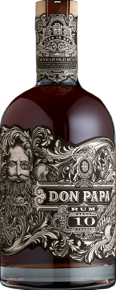 Don Papa Oak Aged Rum 10yr 86 Proof 10 year old