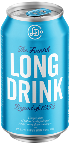 The Long Drink Company The Finnish Long Drink Gin Cocktail