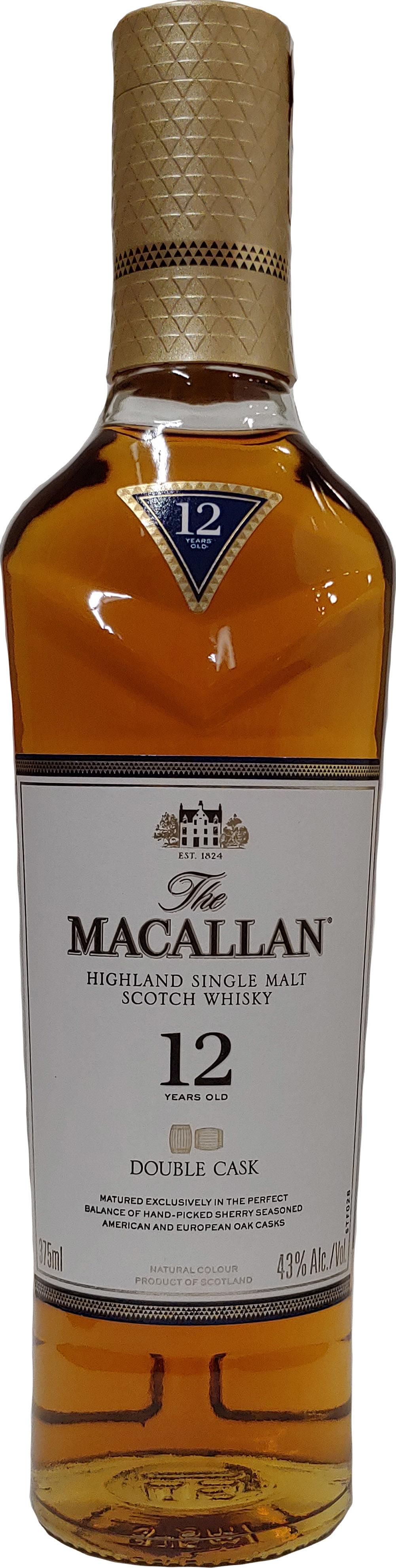 Macallan Double Cask Highland Single Malt Scotch Whisky 12 year old