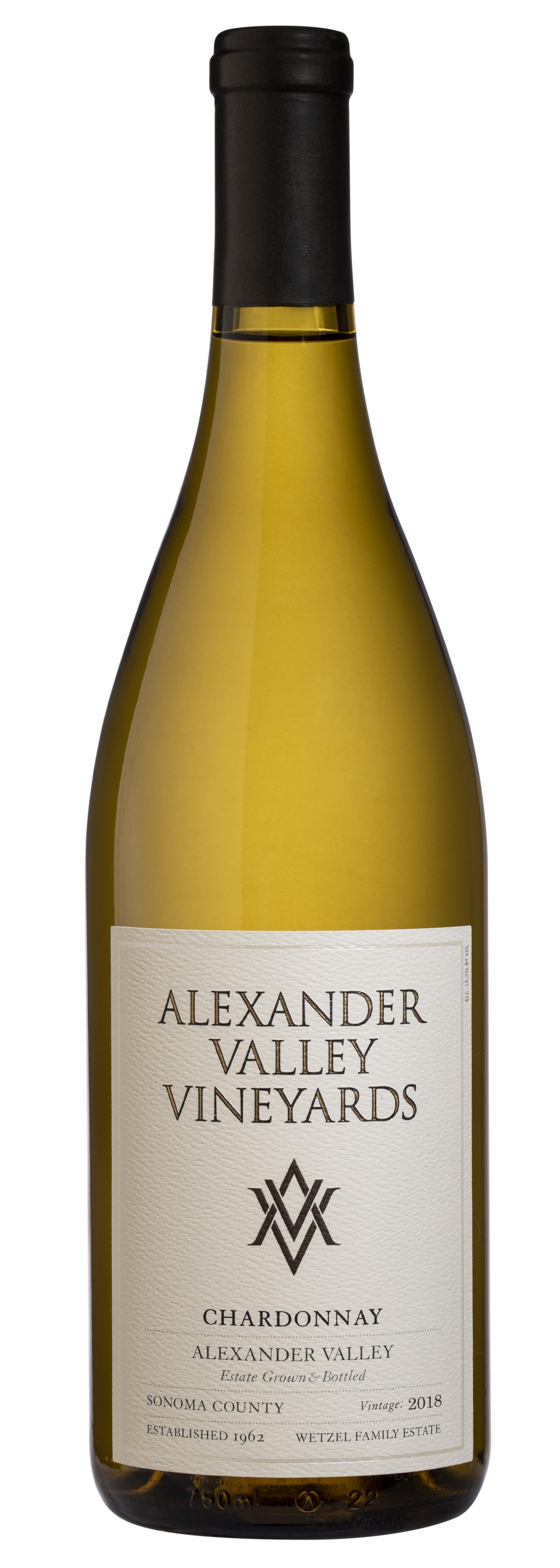 Alexander Valley Vineyards Chardonnay 2018