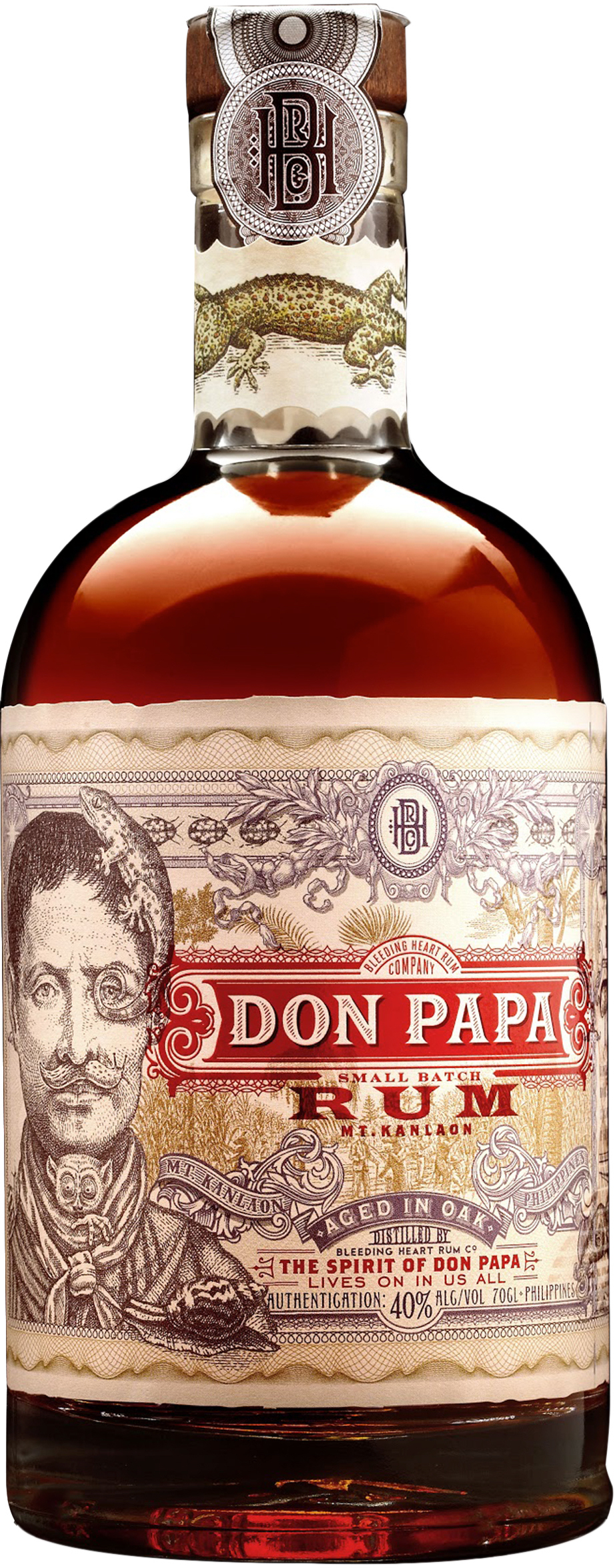 Don Papa Small Batch Oak Aged Rum 7 year old