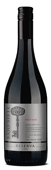 Bajo Siete Reserva Pinot Noir 2018