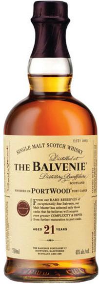 Balvenie PortWood Single Malt Scotch Whisky 21 year old