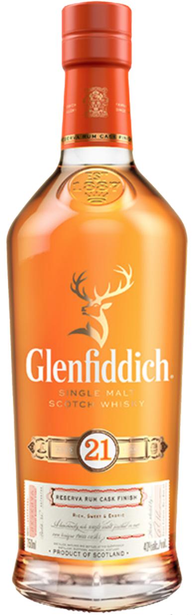 Glenfiddich Single Malt Scotch Whisky 21 year old