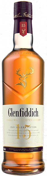 Glenfiddich Solera Single Malt Scotch Whisky 15 year old