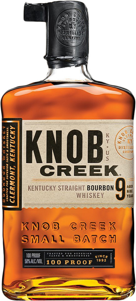 Knob Creek Kentucky Straight Bourbon Whiskey 9 year old