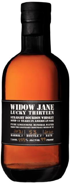 Widow Jane Lucky Thirteen Bourbon 13 year old