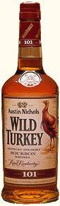 Wild Turkey Kentucky Straight Bourbon Whiskey 101 Proof