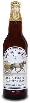 Warwick Valley Winery & Distillery Doc's Draft Hard Apple Cider