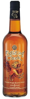 Fighting Cock Kentucky Straight Bourbon Whiskey 6 year old
