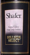Shafer Hillside Select Cabernet Sauvignon 2009