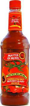 Master of Mixes 5 Pepper Extra Spicy Bloody Mary Mix