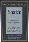 Shafer Hillside Select Cabernet Sauvignon 1993
