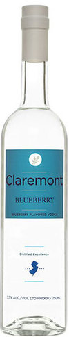 Claremont Distillery Blueberry Vodka