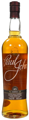 Paul John Whiskey Edited Single Malt Whisky