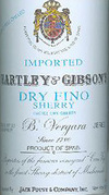 Hartley & Gibson's Dry Fino Sherry