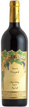 Nickel & Nickel Harris Vineyard Merlot 2015
