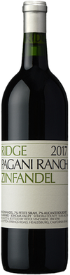 Ridge Vineyards Pagani Ranch Zinfandel 2017