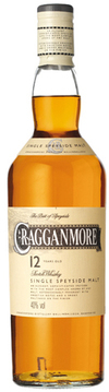 Cragganmore Single Malt Scotch Whisky 12 year old