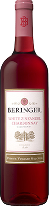 Beringer Premier Vineyard Selection White Zinfandel Chardonnay
