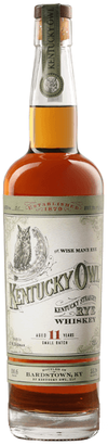 Kentucky Owl Kentucky Straight Rye Whiskey 11 year old