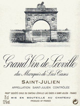 Chateau Leoville Las Cases Saint Julien 1986