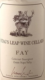 Stag's Leap Wine Cellars Fay Estate Cabernet Sauvignon 2008