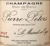 Pierre Peters Blanc de Blancs Le Mesnil Oger Grand Cru
