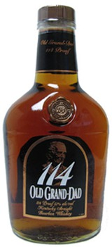 Old Grand-Dad Kentucky Straight Bourbon Whiskey 114 proof