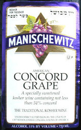 Manischewitz Concord Grape