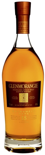 Glenmorangie Single Highland Malt Scotch Whisky 18 year old