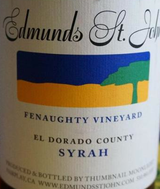 Edmunds St. John Fenaughty Vineyard Syrah 2012