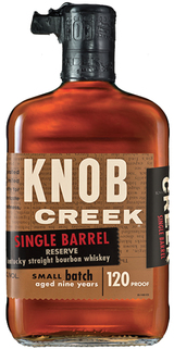 Knob Creek Single Barrel Reserve Kentucky Straight Bourbon Whiskey 9 year old