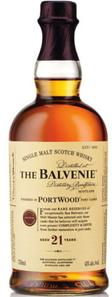 Balvenie Port Wood Single Malt Scotch Whisky 21 year old