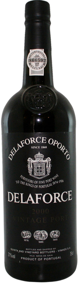 Delaforce Vintage Port 2000