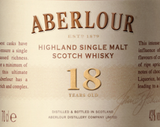 Aberlour Highland Single Malt Scotch Whisky 18 year old