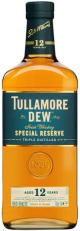 Tullamore Dew Special Reserve Irish Whiskey 12 year old