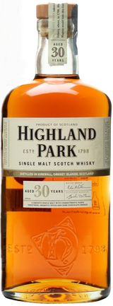 Highland Park Single Malt Scotch Whisky 30 year old