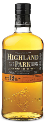 Highland Park Single Malt Scotch Whisky 12 year old