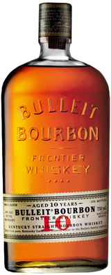 Bulleit Frontier Bourbon Whiskey 10 year old