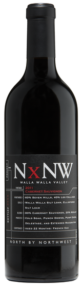 NxNW: North By Northwest Columbia Valley Cabernet Sauvignon 2013