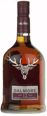 The Dalmore Single Highland Malt Scotch Whisky 12 year old