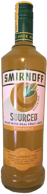 Smirnoff Sourced Pineapple Vodka