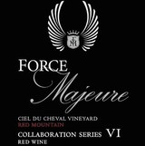 Force Majeure Vineyards Collaboration VI Ciel Du Cheval Vineyard 2012