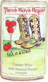 Wagonhouse Winery Three Boys Brand Kick In A Glass