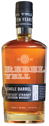 Rebel Yell Single Barrel Kentucky Straight Bourbon Whiskey 10 year old
